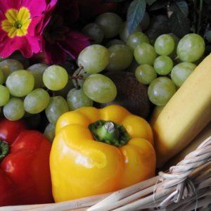 panier fruits légumes bio