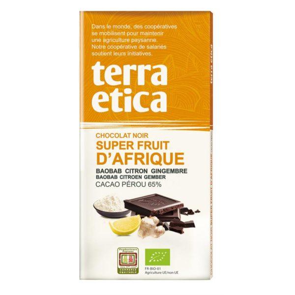 Chocolat fruit dafrique
