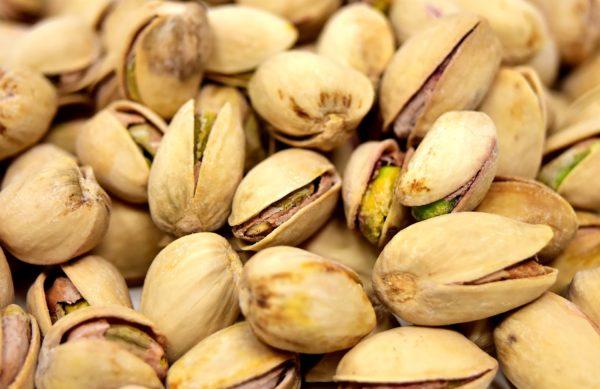 pistaches grillées salées