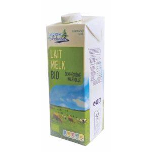 lait demi ecreme